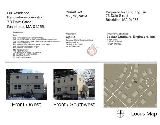 73 Dale Street, Brookline, MA