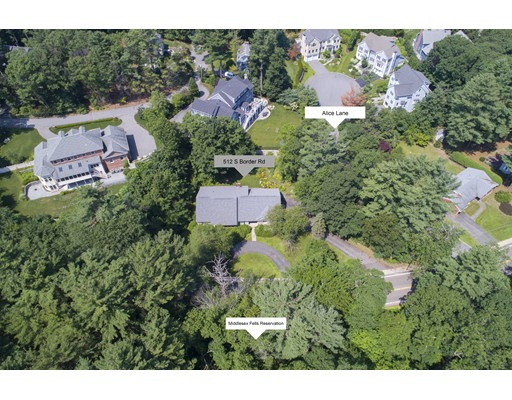 512 SOUTH BORDER Road, Winchester, MA