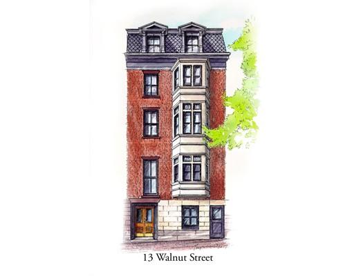 Photo of 13 Walnut Street Boston MA 02108