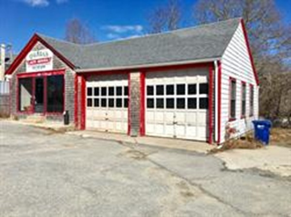 Location! Location! Freestanding building formerly used as a repair garage! This highly visible high traffic location is ideal for many types of businesses! Updated roof and furnace. Town water /town sewer . Call Today!
