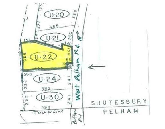 Lot U-22 West Pelham Road Shutesbury MA 01072