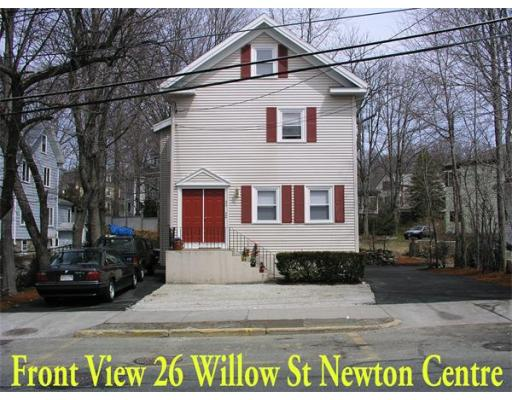 26 Willow Street, Newton, Ma 02459