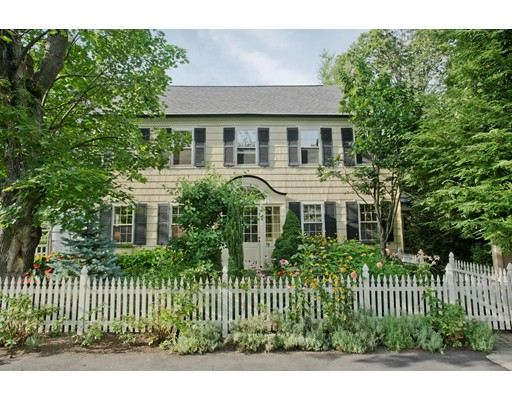Nestled in a canopy of trees & greenery abutting the Smith College Rose Garden is this Gorgeous 4BR, 4.5 BTH home! Set on a quaint, dead-end street, this property is a haven of tranquility. The open kitchen/family room has a fireplace, island & new stainless steel appliances. There's a dining/living area w/fireplace, a fantastic 3-season porch w/tile floor & natural gas stove & a 1st FL office w/windows on 3 sides. The renovation by Construct Associates focused on detail & quality design. Master Suite features a fireplace, a Jacuzzi deck, outdoor shower, Asian-inspired walk-in closets & a stunning bath w/beautiful tile work. 2nd FL BR has garden views & bath w/jacuzzi & skylight. 3rd FL features 2 ensuite baths & a balcony overlooking the treetops of downtown. Plus: Central Air, Wine Cellar, Security System, 2 laundry areas, sprinkler system, Cobblestone patio & more. Downtown is just outside your door! Unique Opportunity to own one of the finest homes Northampton has to offer!