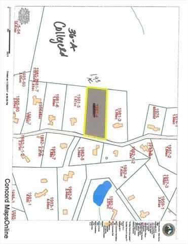 36-A College Road, Concord, MA, 01742, Concord Home For Sale