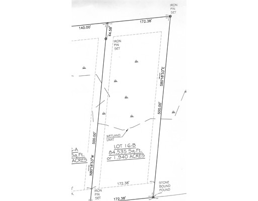Lot 16B West Street, Ludlow, MA