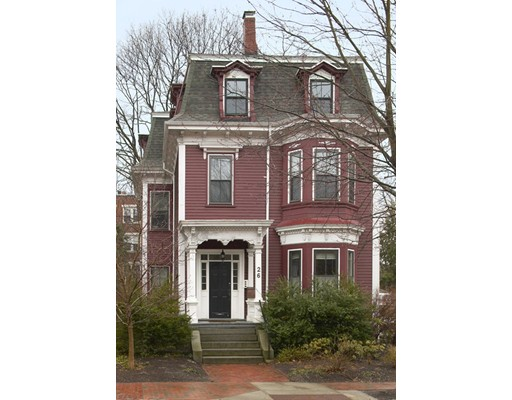 26 Linnaean Street, Cambridge, MA 02138