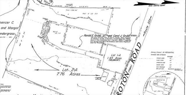 Lot 1A Groton, Shirley, MA, 01464,  Home For Sale