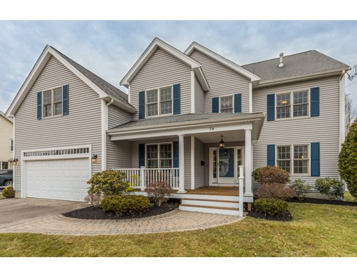 74 Greenwood AVEUE, Needham, MA