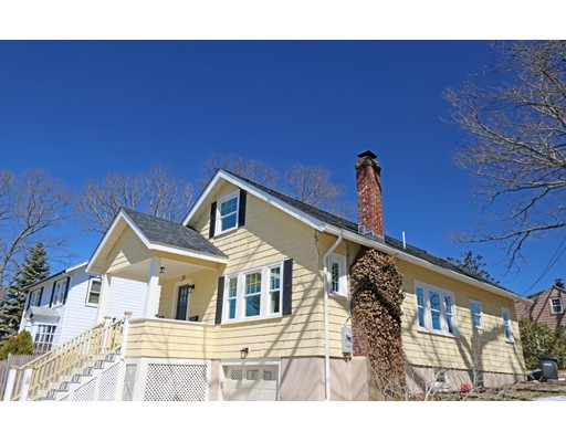 Welcome to this Beautifully, Reappointed Bungalow Located on Circuit Road in the Coveted Oakdale Section of Dedham.  The home welcomes you with a large double closet foyer which opens into the formal living room with an original wood burning fireplace and built ins. Enter into the newly designed, open concept kitchen/dining area which offers granite counters, s/s appliances and new shaker cabinets. The laundry room is perfectly placed at the back of the home with easy access to the main level and upper level bedrooms. A new full bath with designer tiles and 2 generous size bedrooms finish off the main living area.  The second level also adorns a new full bath and an additional 2 bedrooms with refinished hardwood floors.  New amenities include HVAC, windows, blown in insulation, front deck and stairs, roof, exterior paint, plumbing and electrical.