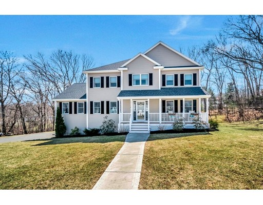 Take advantage of this beautiful Colonial set on a quiet street in the desirable West Side of Woburn close to everything you could want or need!   Built in 2013 this 5 bedroom (or 4 beds w/ an office), 3 bathroom home has all the features you would want from a new construction home at a fraction of the cost! Central Air, Propane fireplace, Hardwood floors throughout the main level and upstairs hallway. The Master bedroom features a walk in closet as well as a full bath with double vanity. All closets in the bedrooms are double door wide with wired shelving already in place.   Brand new granite counter tops featured in the kitchen and all bathrooms. Unfinished basement has rough plumbing for a bathroom to be put in. Private backyard on a quiet street makes this location ideal for families!   Seller is requesting an end of June or beginning of July closing for kids to finish the school year.