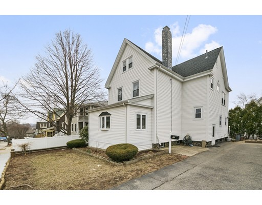 Welcome home to this beautiful colonial in very desirable Watertown! As you walk into the front door, you are greeted by the open foyer with a beautiful staircase. On the first floor you will find the large living room with a sun-filled porch off of it and a wood burning fireplace. Across the way is the formal dining room that has tasteful original built-ins. Around the corner is the kitchen with granite counter tops. Walk upstairs to the large master bedroom and two other good sized bedrooms across from that. The back staircase leads to the third floor with two bedrooms across from each other and another full bathroom. On the bottom floor you will find a full in-law unit which has a separate entrance off of the driveway. It has a full kitchen and bathroom and plenty of potential to house your extended family or have a full nanny suite. This home is conveniently located near numerous restaurants and stores with a short drive to Boston. You have found your forever-home in Watertown!