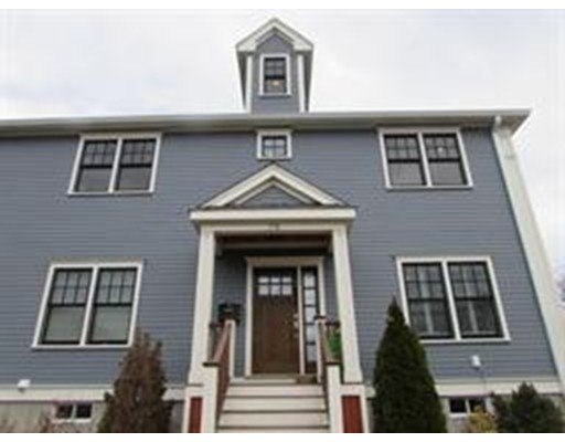 OPEN HOUSE SAT AP 21 10am.  Beautiful 3-4 bedroom/5 bathroom townhouse two blocks from Watertown Square.  The large first floor boasts a chefs kitchen with 10' island, high end appliances including wine fridge, eat in area, and access to fenced in backyard as well as a spacious living room with gas fireplace, a dining room, closet space and a half bath.  The second floor has 3 large bedrooms including a luxurious master suite and second bathroom and laundry room.  The third floor could be used as a fourth bedroom, au pair suite, office, media room, etc as it has a private full bathroom and balcony.  The basement is fully finished and is a great playroom, exercise room, or bonus family room with a half bath.  This home checks all the boxes with central air, central vac, gas heating and cooking, private yard, 2 parking spots and high walkability rating with public transportation, restaurants, shops, etc just a few feet away.  Contact me for a private showing today!