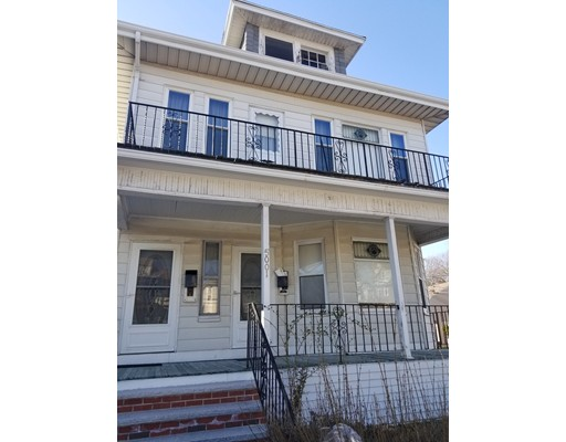 Multi family in need of work. Rental unit offers open dining/living area, 2 beds and a bath and functional kitchen. 2nd floor unit offers 3 beds on the main floor with an open style concept, full bath and access to the semi finished attic/3rd floor. Both units leased until Feb 2019 substantially under market rent.