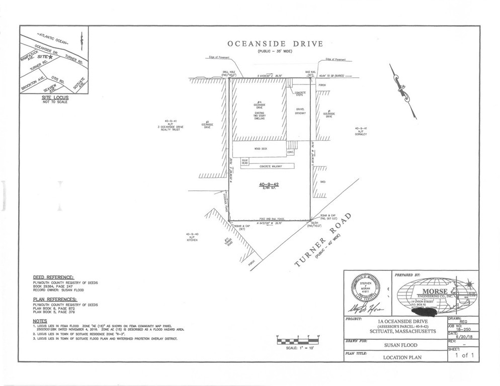 1A Oceanside Drive, Scituate, MA 02066, Sand Hills - SOLD