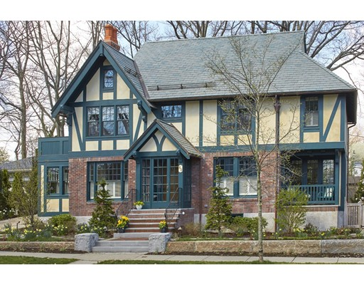 Upon purchase of a 1928 colonial in 2013, the current owners began the extraordinary transformation of this well-located Larches property into a Tudor Revival home. Working with renowned architect Frank Shirley, the impeccably crafted home was completed in December 2015. Inside and out, each detail of this exquisite 3257 sq/ft home speaks of quality & craftsmanship. A redesign of the roofline includes new slate roof with heated copper gutters and downspouts. Interior boasts 3 levels of handcrafted moldings, oak flooring, custom cabinetry & an open light-filled floor plan perfect for entertaining. The lower level has been excavated & insulated to create a cozy game room. Whole house sound systems, elevator, & top-notch appliances round out this well thought out home. With a heated driveway and walkway, 3 seating areas, fire pit  & outdoor grill, the outdoor space has been transformed into a peaceful oasis. Superior quality materials, design and craftsmanship make this home a must-see.