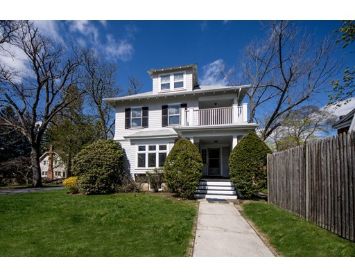**Classic and Unspoiled 1910 Colonial** of a perfect size and a perfect location. Ready for a visionary to bring into this Century.