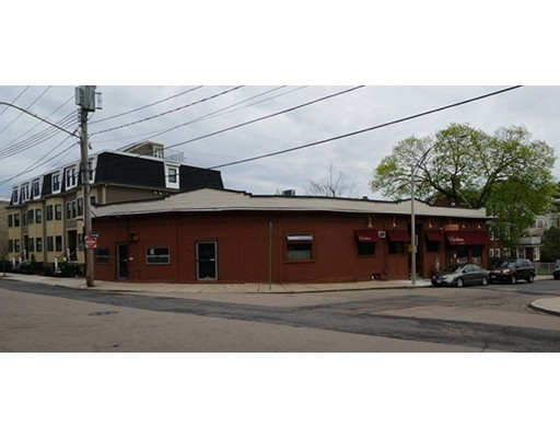 Currently this building is partially occupied by Masona Restaurant. Currently tenant has term but it may be possible to deliver space empty. Great  opportunity for restaurant operator who wants to own building.  There is vacant retail space at corner of 1450 SF. Restaurant could be expanded or this space could be leased separately. A roof deck may also be possible.