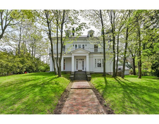 New price - Offers to be reviewed as received. Once in a lifetime opportunity to own this historically-significant Greek Revival 18 room mansion. 10 Roanoke is one of the earliest houses (1852) built on Sumner Hill, and original country mansion of General William Hyslop Sumner (1780-1861) who gave his name to Sumner Hill. General Sumner was a pre-Civil War Adjutant General and son of the Massachusetts Governor, Increase Sumner. He owned & developed all of East Boston. Sumner Tunnel commemorates his name.  Converted in 1928 into 2-units, and sitting on 15,000 sqft of idyllic & tranquil land with 136' frontage & detached two-car garage. Minutes from Green St T, Centre St restaurants & shops, Brookline, Longwood Medical, downtown Boston.  Enjoy the Jamaica Pond, Arboretum and one of the most coveted neighborhoods in the city. Bring your vision and contractor to restore this into your dream home beyond compare. Shown by appointment.