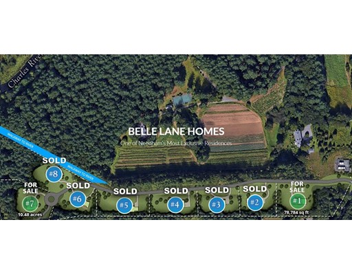 lot 7 Belle Lane Needham MA 02492