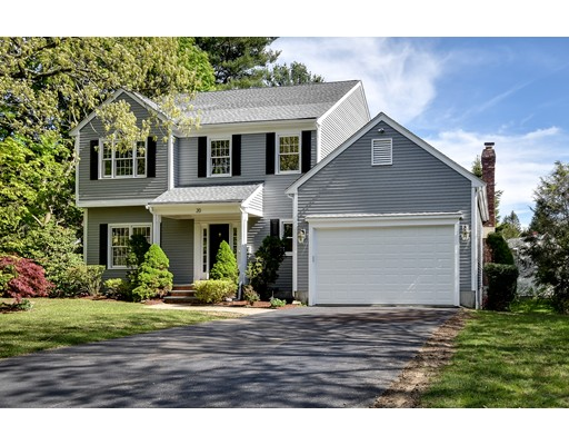 20 Hickory Road, Wellesley, MA
