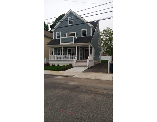 2018 New Construction single family home in top Roslindale location! Home features 8 rooms, 3-4 bedrooms & 4 baths offers 650+/- sf of additional finished space on 3rd floor. Additional amenities include a Granite/SS kitchen w/state of the art Samsung appliances & recessed lights,1st floor family room and separate office, Master Suite with full bath, walk-in closet and private deck, 2nd floor laundry, red oak hardwood floors on all 3 levels, full basement has heating, central air and rough plumbing for a 5th bath! A 3+ car driveway provides plenty of off street parking. Lot is professionally landscaped with a nice level, fenced in backyard for the kids! Front and rear porches. Walk to stores and commuter rail stop to Boston. Come by and take a peek at this gorgeous home! 1st showings at Open House Saturday 5/26 between 1-3PM! Contact list agent Ernie Cakridas 617-602-0185