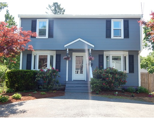 Your search is over! Well maintained 8 room, 4 bedroom, 2 full bath home located in a much sought after location in Dedham. The first floor has an eat in kitchen which is open to the dining room and gives you access to the rear deck. There's also a full bathroom, family / living room with a sliding door that leads to a large deck over looking a level fenced in yard. The second floor has 4 generously sized bedrooms with ample closet space. Brand new full bath with custom built in shower. The interior of the house has been freshly painted, and refinished hardwood floors The basement is partially finished with an additional bedroom, family room and has the potential for an additional bathroom. The exterior of the house has been completely done over w/ newer siding, windows, roof and  the yard is fenced in. Minutes to the commuter train to Boston, restaurants, shopping and major highways. Don't miss this one! Showing to start this from Sunday 1 - 3.