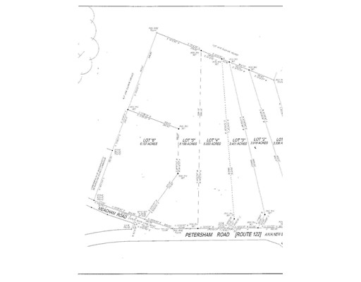Lot 1-5 Petersham Rd aka Route 122, New Salem, MA