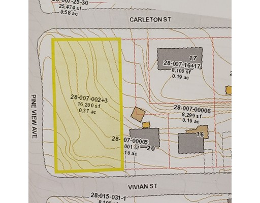 Lot 1-4 Pine View Ave, Worcester, MA 01613