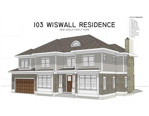 103 Wiswall Road, Newton, MA
