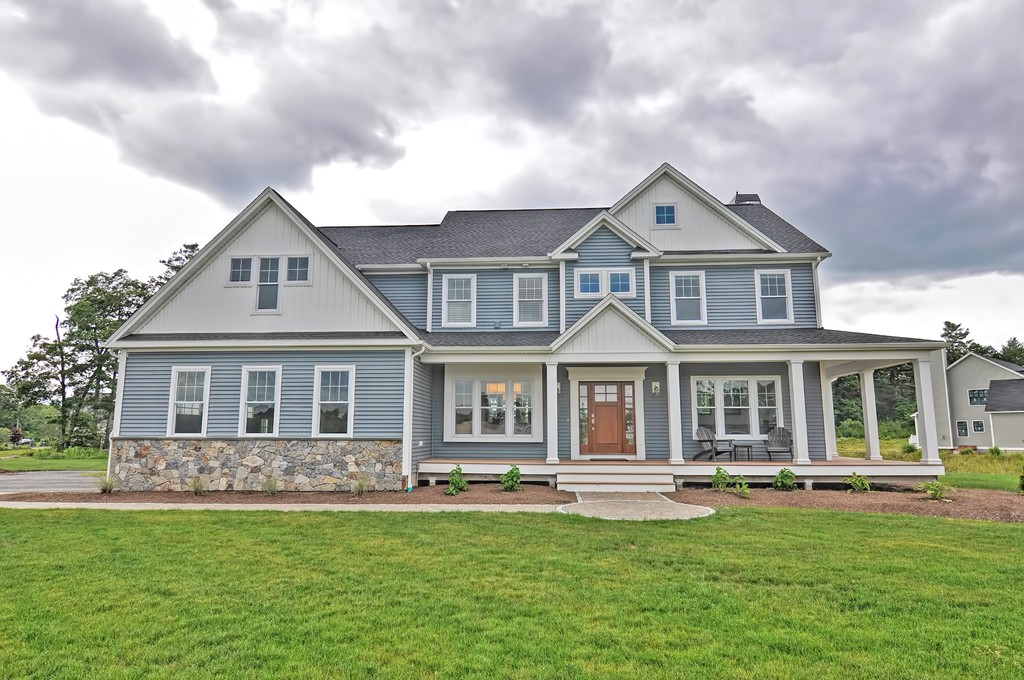 Why Wait to Build? This Custom Home was Built in 2016! Enter Through the Artisan Front Door Into the Two Story Foyer With Views of the Main Level and Rear Yard! Pass the Dining Rm and the Den on Your Way to the Massive Open Kitchen and Living Area. The Kitchen Boasts Ample Counter Space and Seating For 6 at The Island! In the Spacious Living Area You Can Relax by the Stone Fire Place at Night or Enjoy the Sun Filled Space During the Day! High End Appliances, White Oak Floors, Soft Close Cabinetry, Flowing Granite and Herringbone Tile Backsplash Finish the Space. Off the Kitchen is the Mudrm With Built-In Bench, Walk-In Pntry, and Lavette. Enormous Master Suite With Sitting Area Houses an Ensuite Bath with Heated Slate Floors, Glass Tile Shower and Walk-In Closet. 3 Large Bedrms With Generous Closet Space, Laundry Room, Full Bath with Recycled Glass Counters and Loft Area Finish Out the Upr Level. The Lwr Level Has a Large Open Space Perfect For a Playroom or Entertaining!