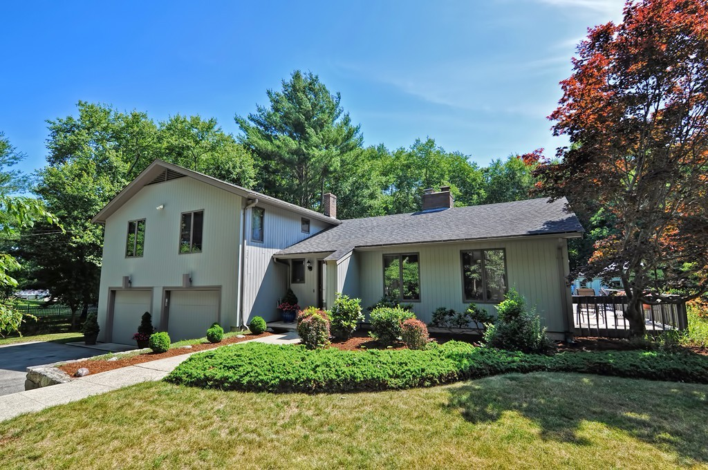"""Beautifully Maintained Contemporary Split Level Located on Private Lot Near Crestwood County Club in Desirable South Rehoboth! Perfect for Entertaining, the Spectacular Grounds Feature a Gorgeous 20x40 Saltwater Gunite Inground Pool, Cabana with Bath, Expansive Wraparound Deck with Pergola, Outdoor Kitchen, Shed and Full Basketball Court! Inside this Sprawling and Sun Filled Home you'll find an Open Floor Plan with Cathedral Ceilings, Skylights and Magnificent Double-Sided Brick Fireplace! Newer Kitchen Boasts Espresso Cabinetry, Granite Countertops, Tiled Backsplash, Stainless Steel Appliances, Island and Peninsula with Seating! Luxurious Master Suite Offers a Private Bathroom and Separate """"Spa & Exercise Room"""" Featuring a Hot Tub, Sauna, Steam Shower and Balcony! Additional Family Room, Game Room with Wet Bar and 2 Car Garage Complete this Entertainer's Dream! Young Architectural Roof, Boiler and New Septic System to be Installed prior to close Make this a Tremendous Value!"""