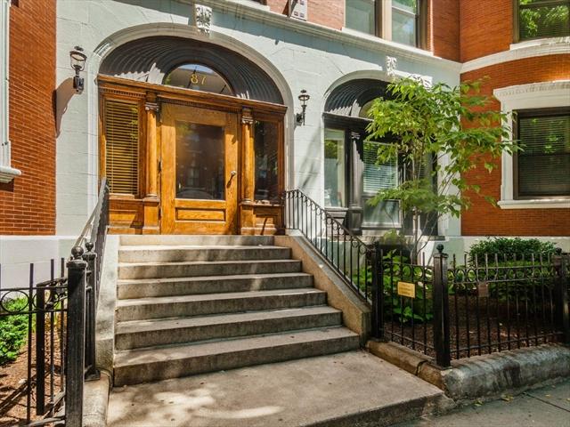87 Gainsborough St, Boston, MA, 02115, The Fenway Home For Sale