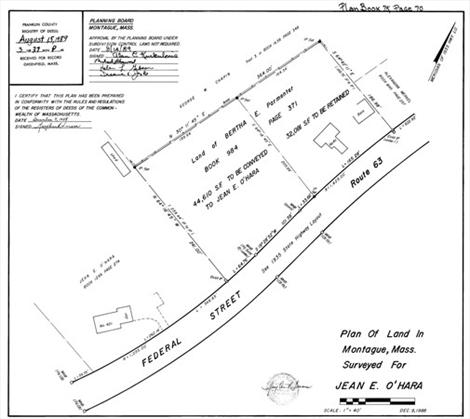 map44lot71 Federal Street, Montague, MA: $50,000
