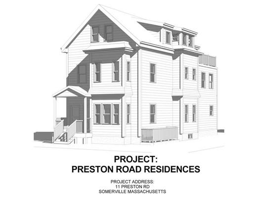 11 Preston Road, Somerville, MA 02143