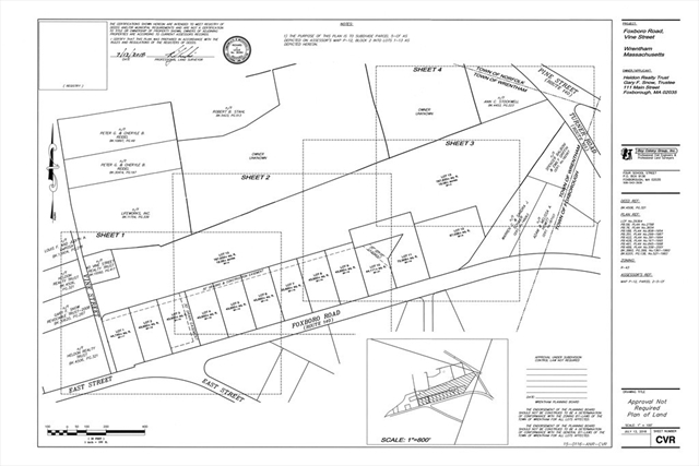 Lot 9 Foxboro Road, Wrentham, MA, 02093, Wrentham Home For Sale