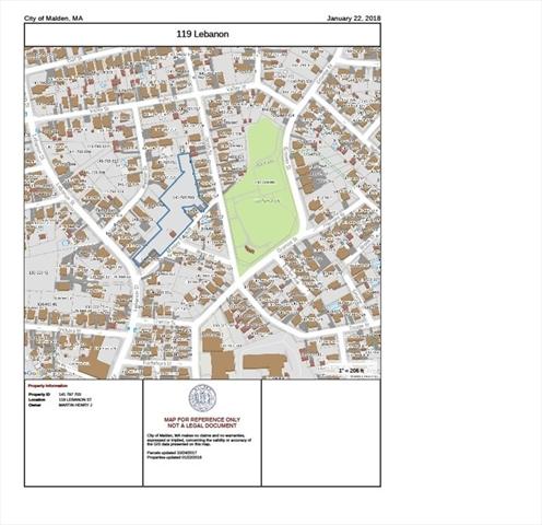 119 Lebanon St, Malden, MA, 02148,  Home For Sale
