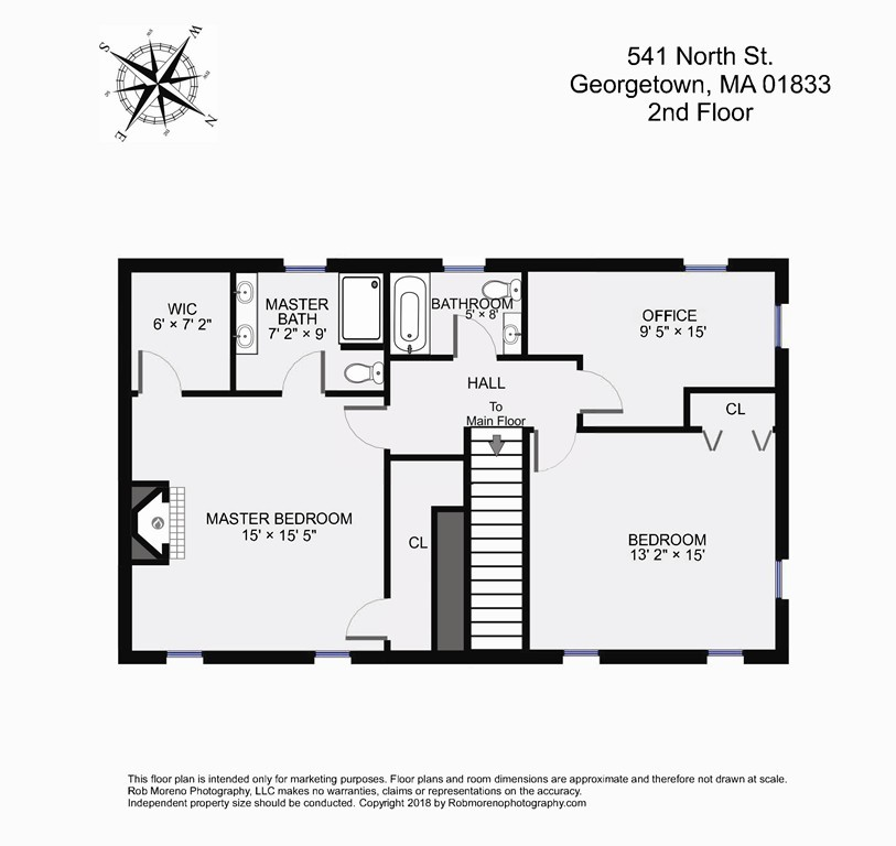541 North Street, Georgetown, 01833, South Georgetown