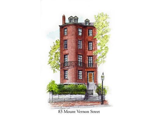 83 Mount VERNON, Boston, Ma 02108