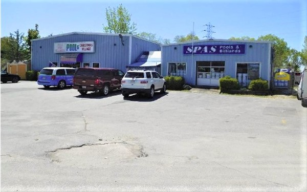 Prime Retail Location! This is a GREAT OPPORTUNITY for you to start your Business in this busy Route 6 location & near Route 195 ! This location is neighbored by many commercial businesses on both sides of the undivided 4-lane highway, including the Swansea Mall, Wendys, McDonalds,, Marshalls,banks,gas stations & restaurants. This property has high visibility & high traffic counts both days & evenings. 199 feet of road frontage!  2 heated retail steel buildings(1 is 50' x 120' plus an extended 10' x 15' ft office with 14-16 ' ceilings ,overhead rear door & 1 is 30' x 30' ,both with show rooms. There are also 2 well maintained steel storage buildings, each with a front 8' high overhead metal door! The 4 buildings combine for  9,108 sq ft. of useable space. Great signage to advertise your business prominently  and attract customers directly to you! With a high traffic count daily passing by your business they are reminded of who,where and what you offer! Even comes with an inground pool!
