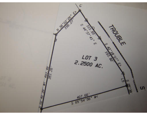 lot 3 Trouble Street Cummington MA 01026