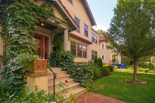 59 Green St, Brookline, MA, 02446, Coolidge Corner  Home For Sale