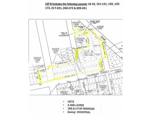 Lot B Oak Street, East Bridgewater, MA