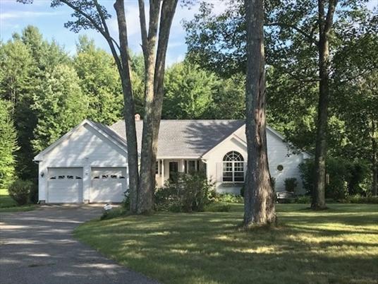82 Woodard Hts, Orange, MA<br>$369,000.00<br>3.25 Acres, 3 Bedrooms