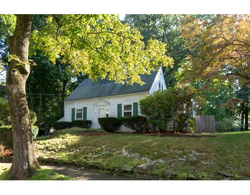 Chestnut Hill! Attention owner occupants and developers. Located on a beautiful tree lined street is this freshly painted (interior) Cape Style home. The first floor is comprised of an open living room, dining room with built in corner cabinet, eat in kitchen, den/bedroom and half bath. The second floor features 2 bedrooms and a full bath. Hardwood flooring throughout most of the house. Lovely yard and parking for 2 + cars. Around the corner from The Chestnut Hill Mall, The Street, Lifetime, Wegmans, public transportation and more. A great life style! Available for immediate occupancy.