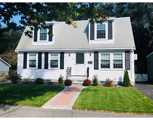 Rare opportunity in sought after Buttonwood Village neighborhood in Chestnut Hill.  Only a short walk to Larz Anderson Park.  Single family home abutting conservation land.  Eat-in-kitchen looks out over the fenced back yard with patio and garden area.  The first floor has a living room with fireplace and built-in bookshelves, a dining room, a den/family room, and a full bath.  Four substantial bedrooms and the full bath are located on the second floor.  Finished, walkout basement with a laundry area and newly renovated half bath.  Freshly painted interior and exterior, new masonry work on front stairs and walkway, refinished hardwood floors throughout.
