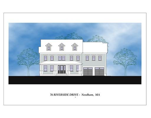 76 Riverside Street, Needham, MA