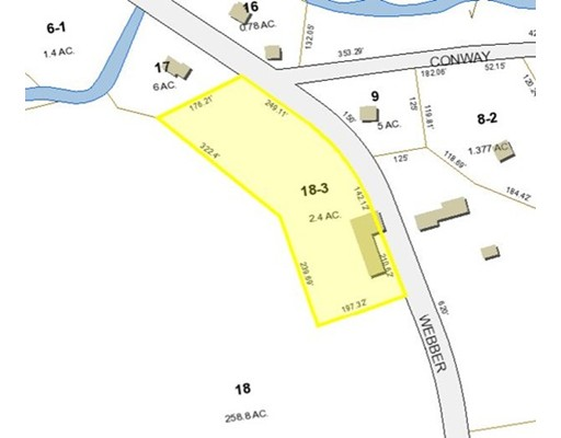 Lot 18-3 Webber Rd, Whately, MA 01039