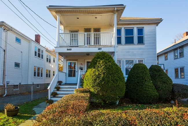 261-263 Roslindale Avenue Boston MA 02131