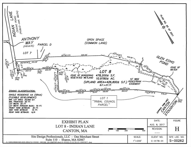 Lot 8 Indian Ln, Canton, MA, 02021, Canton Home For Sale