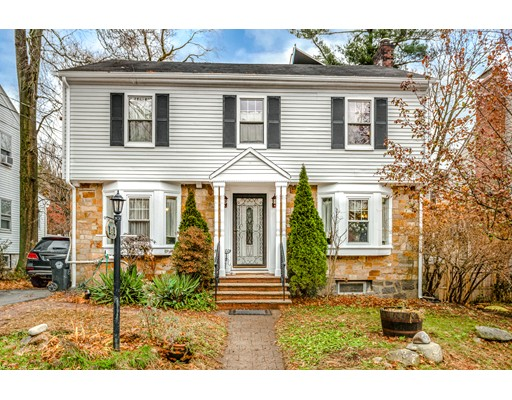 Charming 3bed 3.5Bath Garrison style home ideally located in South Brookline's highly sought after Chestnut Hill neighborhood.  This home features an open concept kitchen with granite counter top, stainless steel appliances, dining room, powder room, sun room, spacious living with a bonus room and a wood burning fireplace on the first floor.  Second floor features spacious master bedroom with master bath & walk in closet, two good size bedrooms and a full bathroom.  Hardwood floor through out the entire house except kitchen.  Partially finished basement offers extra living space with a full bathroom.  Detached 1 car garage and leveled back yard. Minutes to Baker School, Allandale Farm, Putterham Circle, Larz Anderson Park and the shops at Chestnut Hill Village. Easy commute to the Longwood Medical Center, Boston and Cambridge.